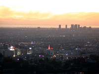 176.  Los Angeles Sunset on a Clear Day