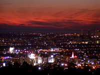 177.  Sunset Over Hollywood